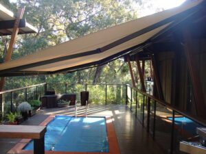 Folding Arm Awnings Qld